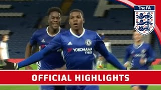 Chelsea 7-1 Spurs - 2016/17 FA Youth Cup semi-final Second Leg | Official Highlights