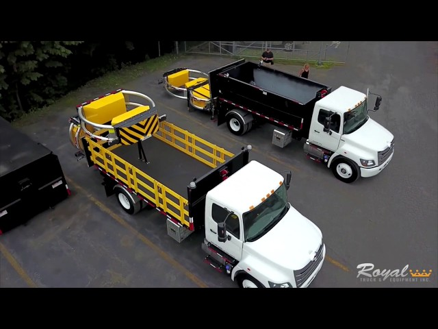 Royal Truck & Equipment's Hooklift TMA Truck, 3-in-1, and Side Lift Gate