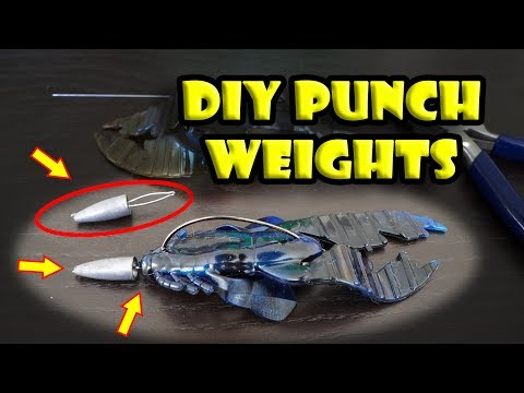 How to Make Your Own Punch Weights for the Punch Rig (DIY Sasuteki) Bass Fishing Rig
