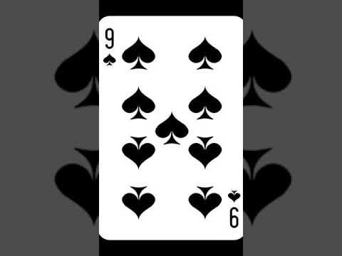 Значение карт девятка пиковая / толкование игральных карт