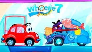 Красная Машинка ВИЛЛИ 7 Выпуск #1 прохождение игры про машинки как мультик для детей Wheelie 7 KIDS
