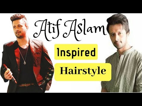 Atif Aslam Inspired hairstyle/haircut | faded side | Pakistani mens Hairstyle 2018