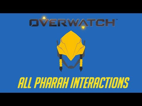 Overwatch - All Pharah Interactions + Unique Kill Quotes