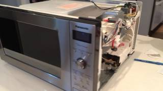 Faulty Panasonic Microwave oven Genius Prestige NN-SD797S