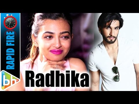 Radhika Apte's FUN Rapid Fire On Ranveer | Gulshan | Anurag Kashyap | Stalker Fan