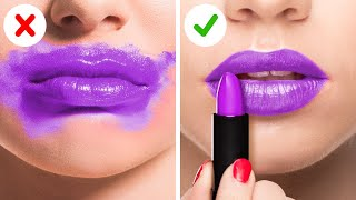 MAKEUP TRICKS THAT WILL CHANGE YOUR LIFE || 5-Minute Beauty Hacks For Girls