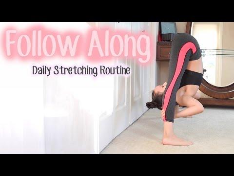 Intermediate Stretching Routine | FOLLOW ALONG
