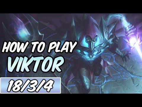 HOW TO PLAY VIKTOR TOP | Build & Runes | Diamond Commentary | Death Sworn Viktor | League of Legends