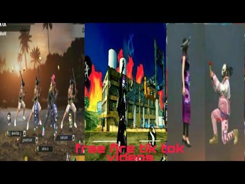 Free Fire Tik Tok Videos/Tok Tok Vidios#free Fire /bestest Videos Of Free Fire On Tik Tok