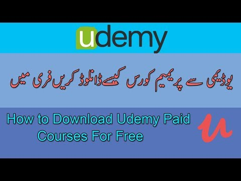 How to Download Udemy Paid Courses For Free 2017 | 100% Legal And