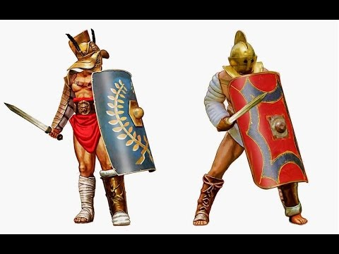 Gladiators - Types Classes and Equipment
