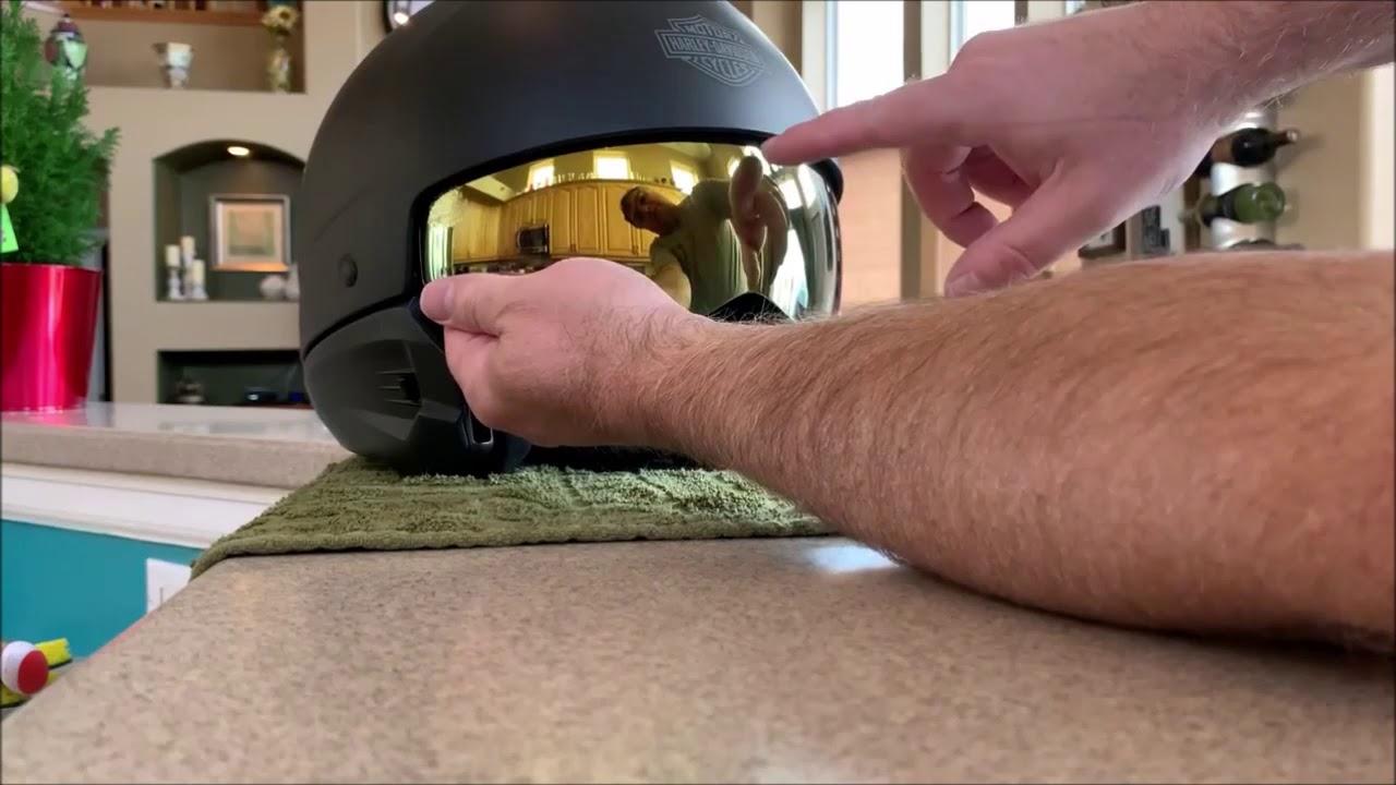 3971ca98 Harley Davidson Pilot 3 in 1 and Scorpion Helmet - YouTube