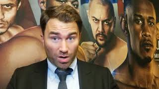 BREAKING NEWS: EDDIE HEARN TALKS IN DEPTH THE REASON FOR NOT EXCEPTING THE OFFER &  LACK OF RESPECT