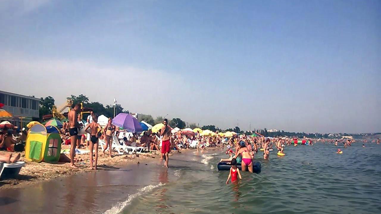 Пляжи одессы видео