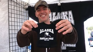 ANCHORAGE MARKET FUN - [Living In Alaska 155]