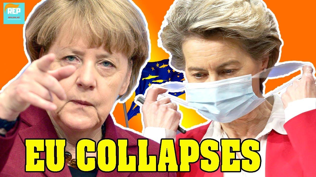 EU BIG SHOCK: VDL humiliated as Merkel admits the bloc has LOST! The EU must change..