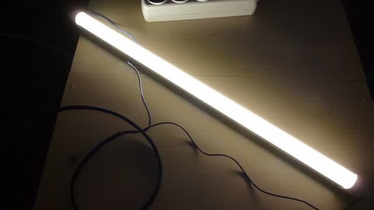 Патрон для люминесцентной лампы с цоколем G13 - YouTube