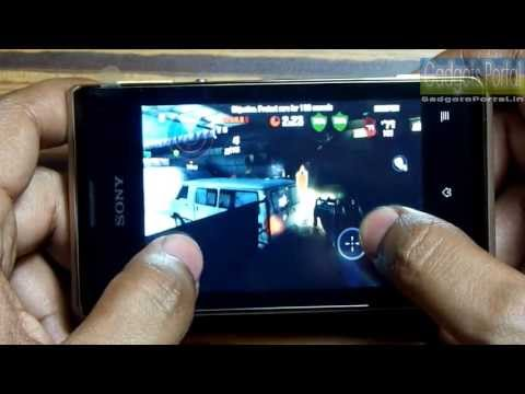 Sony Xperia E GAMING REVIEW HD by Gadgets Portal