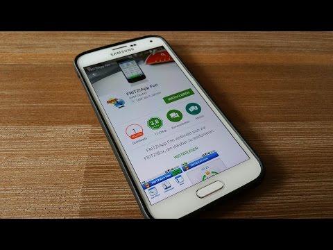 Android: Fritzfon Festnetztelefon