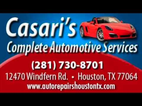 Auto Repair Shop in Houston ~ Casari's Automotive, Houston ~ Vehicle Repair Services