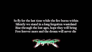 DragonForce - Heartbreak Armageddon | Lyrics on screen | HD