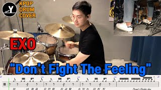 """""""EXO - Don't Fight The Feeling""""[Drum cover by Drum…"""