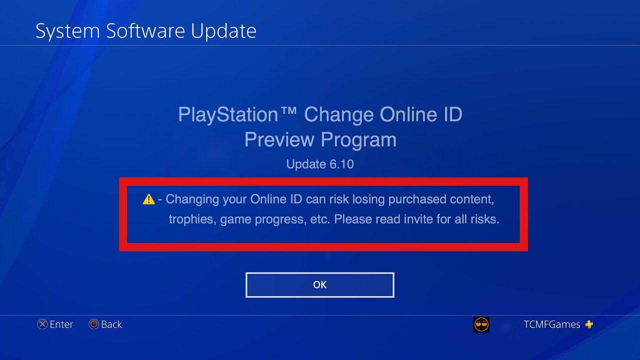 *PS4 UPDATE 6.10* - PSN NAMECHANGE/CHANGE YOUR PSN GAMERTAG HUGE UPDATE ! - YouTube