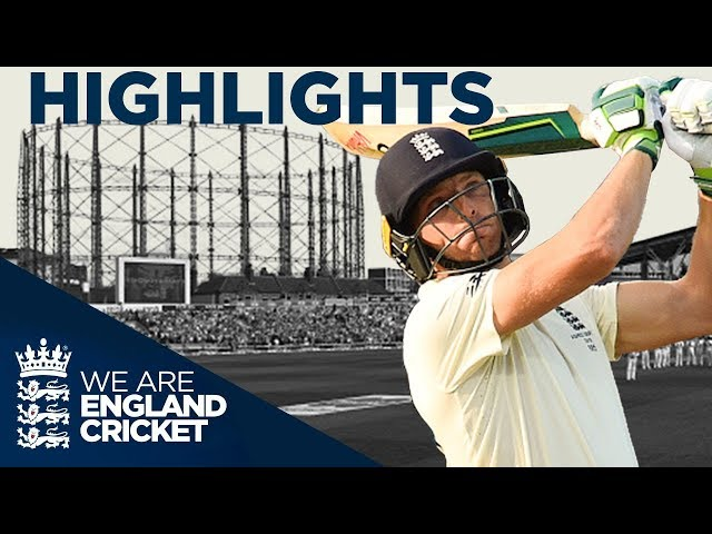 Buttler Impresses As England Bounce Back   The Ashes Day 1 Highlights   Fifth Specsavers Test 2019