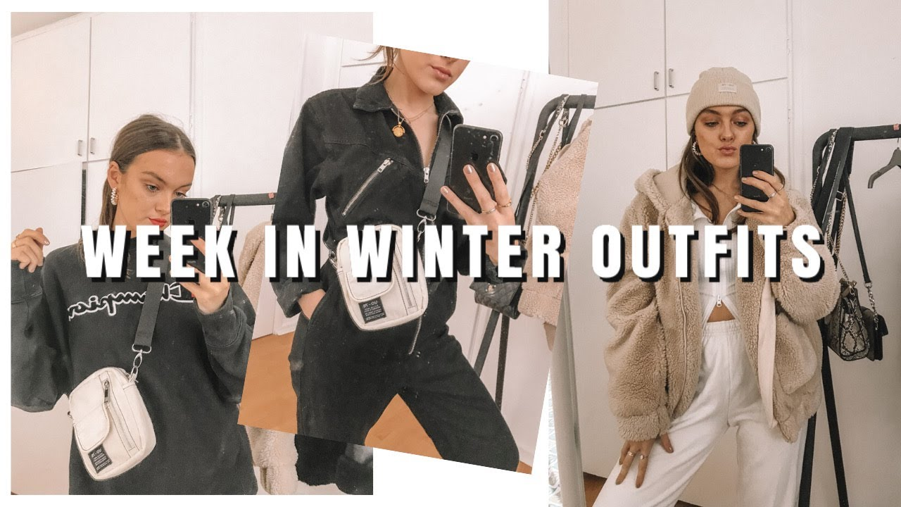 [VIDEO] - A WEEK IN COSY WINTER OUTFITS | ames banks 2