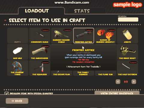 Team Fortress 2 How To Craft Slot Token Melee