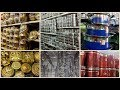 Stainless Steel Cookware,Kitchen Shelf,Containers,Pooja Items In One Place