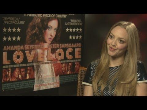 Amanda Seyfried talks about playing adult film star Linda Lovelace