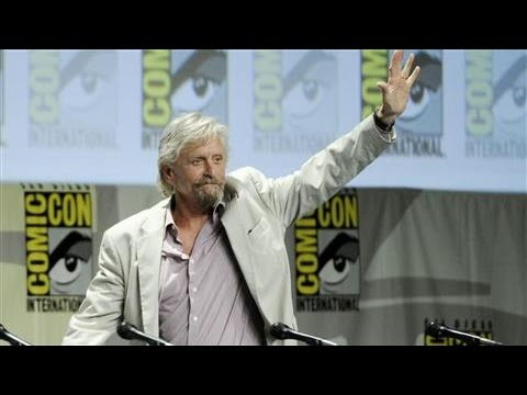 Michael Douglas on 'Ant-Man' and 'Guardians of the Galaxy'