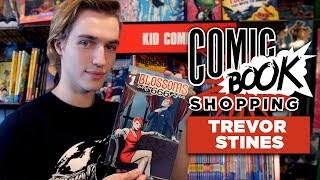 Riverdale's Trevor Stines Goes Comic Book Shopping