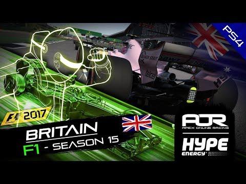 F1 2017   AOR Hype Energy F1 Leagues   PS4 Oceania S2   R6 British GP
