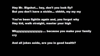 Slick Rick - Hey Young World(Lyrics on screen) HD