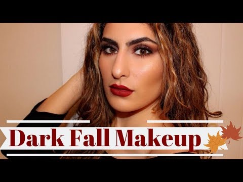 DARK FALL MAKEUP TUTORIAL thumbnail