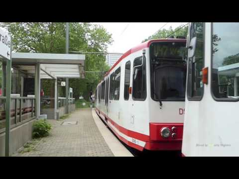 U-bahn of Dortmund, Germany - Lightrail of Dortmund