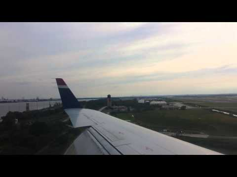 Landing in PHL on US Airways CRJ-200