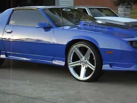 Mustang Z28 >> Camaro on Irocs - YouTube