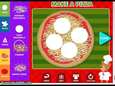 how to make yummy pizza - abcya.com