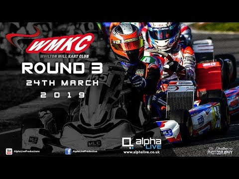Whilton Mill Kart Club Round 3 LIVE From Whilton Mill - Afternoon