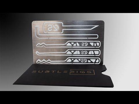 [368] SubtleDigs   New Prototype Credit Card Lock Pick Set and More Unboxed!