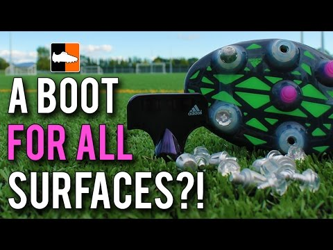 Soft + Firm Ground Boots!? Adidas Make FG/SG/AG Soccer Cleats