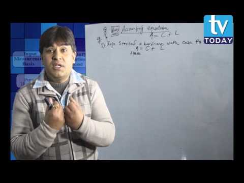ACCOUNTING EQUATION for class 11 part 1