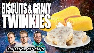 Will it Twinkie? Biscuits and Gravy Twinkies - Dudes N Space