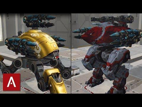 War Robots Gameplay: Testing the SCOURGE Medium Weapon (unedited live stream)