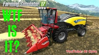 farming simulator 2017 mods what is it scary case ih 130 new holland baler mod review