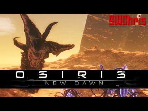 HOLY CRAP A GIANT SANDWORM! - First Day in Osiris New Dawn Early Access Gameplay - 1080p 60fps