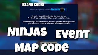 Ninjas fuite Creative Island Code dans Fortnite S10 Livestream